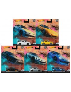 Real Riders - Street Tuners Series Set x5