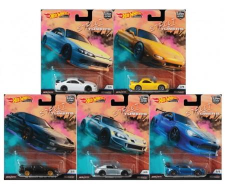Real Riders - Street Tuners Series Set x5
