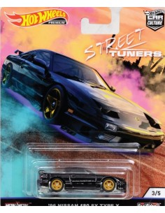 Real Riders '96 Nissan 180 SX Type X - Street Tuners Series 3/5