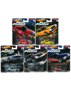 Real Riders Fast & Furious - Fast Rewind Series Set X5