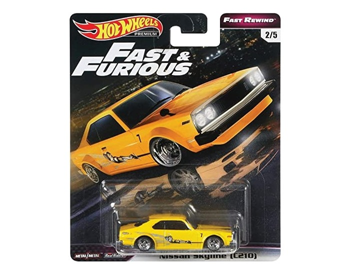 Real Riders Nissan Skyline (C210) Fast & Furious - Fast Rewind Series 2/5