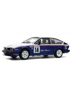 Solido - S1802303 - Alfa Romeo GTV6 - Tour De Corse 1986  - Hobby Sector