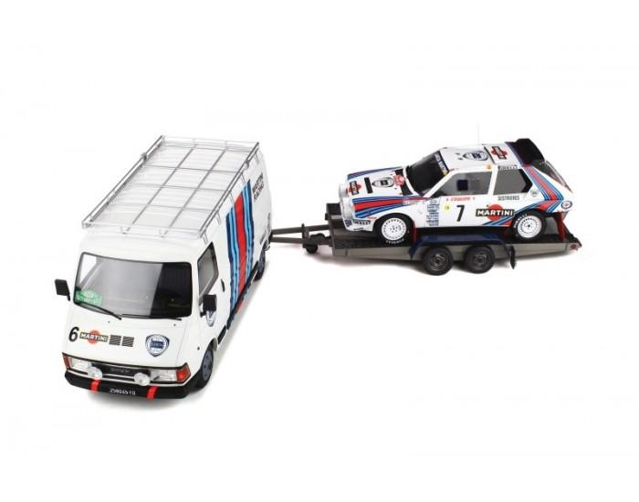 OTTO - OT349 - Rally Set Lancia Delta S4 - Winner Rally Monte Carlo 1986  - Hobby Sector
