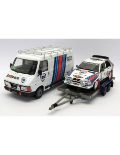 OTTO - OT349 - Rally Set Lancia Delta S4 - Winner Rally Monte Carlo 1986  - Hobby Sector