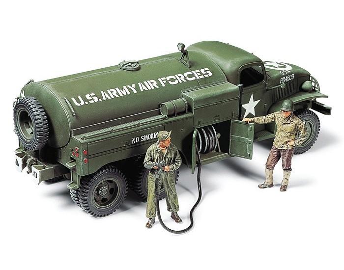 Tamiya - 32579 - US 2 1/2 Ton 6x6 Airfield Fuel Truck  - Hobby Sector