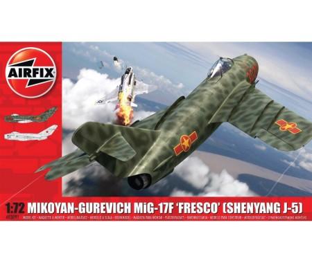 "Airfix - A03091 - Mikoyan-Gurevich MIG-17F ""Fresco"" (Shenyang J-5)  - Hobby Sector"