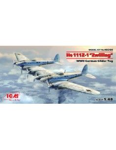 """ICM - 48260 - He 111Z-1 """"Zwilling""""  - Hobby Sector"""