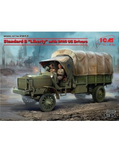"ICM - 35653 - Standard B ""Liberty"" with WWI US Drivers  - Hobby Sector"