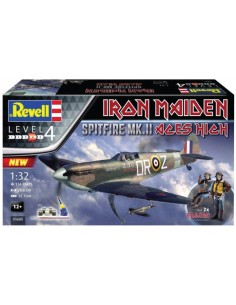 - 05688 - Iron Maiden Spitfire MK.II Aces High  - Hobby Sector