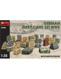 MiniArt - 35588 - German Jerry Cans Set WW2  - Hobby Sector
