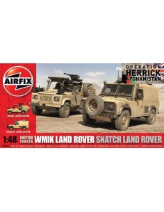 Airfix - British Forces WMIK Land Rover/Snatch Land Rover
