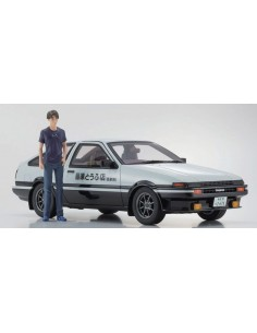 Initial D Toyota Sprinter Trueno AE86 with figure