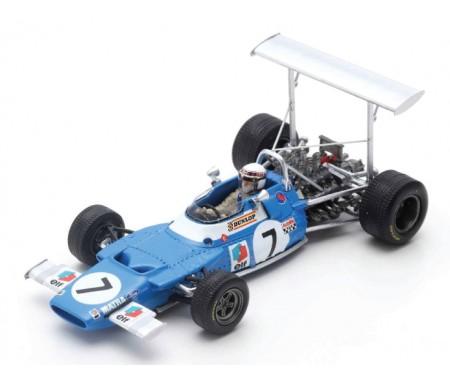 Spark - S7190 - Matra MS80 Jackie Stewart GP Spain 1969  - Hobby Sector