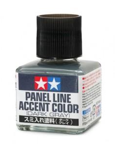 Tamiya - 87199 - Tamiya Panel Line Accent Color - Dark Grey  - Hobby Sector