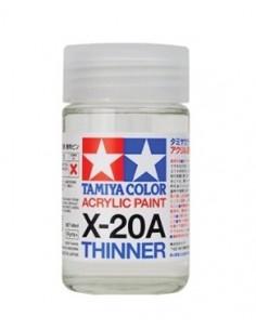 Tamiya - 81030 - X-20A Acrylic Thinner - 46ml  - Hobby Sector