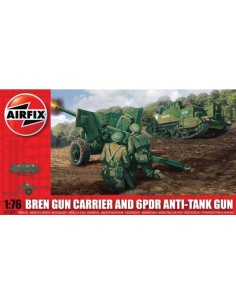 Airfix - Bren Gun Carrier and 6PDR Anti-Tank Gun