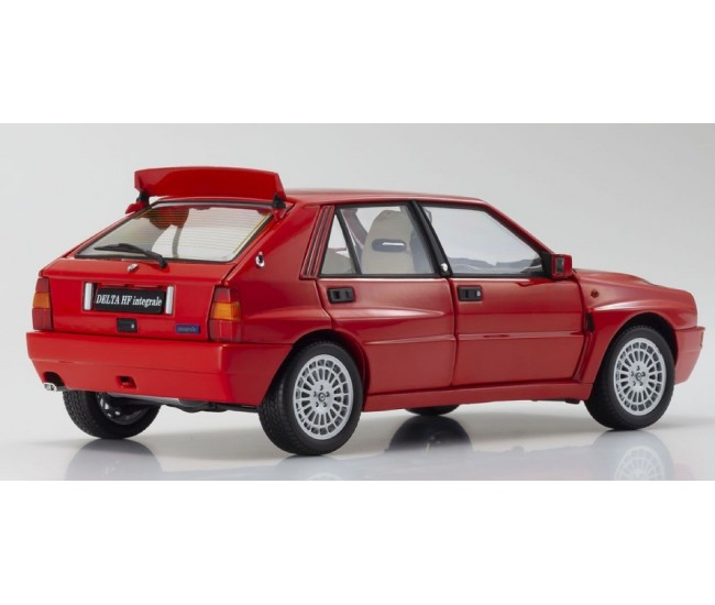 Kyosho Diecast - 08343R - Lancia Delta Integrale Evolzione II Red  - Hobby Sector