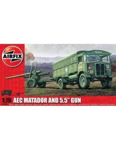 """Airfix - AEC Matador and 5.5"""" Gun"""