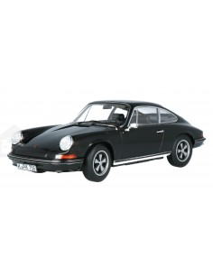 Norev - 187631 - Porsche 911 S Coupe 1973 Black  - Hobby Sector