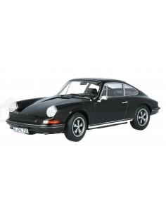 Norev - 187631 - Porsche 911 S Coupe 1973 Black  - Hobby Sector