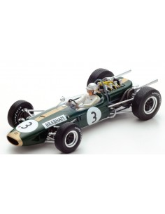 Spark - 18S223 - Brabham BT19 No.3 World Champion 1966 Jack Brabham  - Hobby Sector