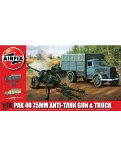 Airfix - PaK 40 75mm Anti-Tank Gun & Truck