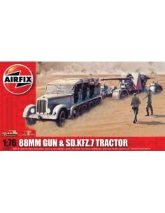 Airfix - 88mm Gun & Sd.Kfz.7 Tractor