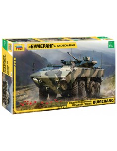 Zvezda - 3696 - BUMERANG - Russian 8x8 Armored Personnel Carrier  - Hobby Sector