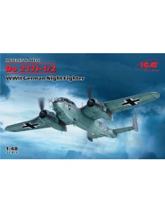 ICM - 48272 - Do 217J-1/2 - WWII German Night Fighter  - Hobby Sector