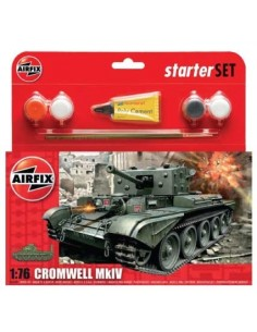 Airfix - Cromwell MkIV Tank Starter Set