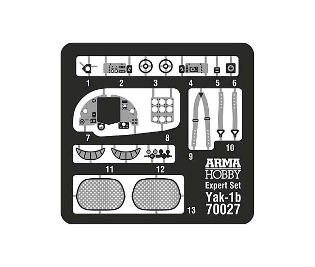 Arma Hobby - 70027 - Yakovlev Yak-1B - Expert set  - Hobby Sector