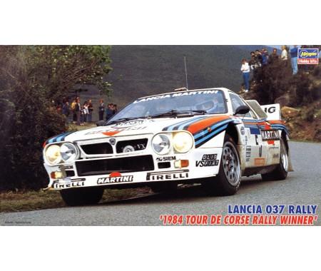 Hasegawa - 25030 - Lancia 037 Rally 1984 Tour de Corse Rally Winner  - Hobby Sector