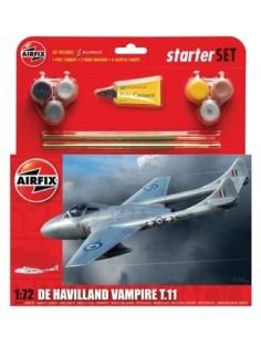 Airfix - De Havilland Vampire T11 Starter Set