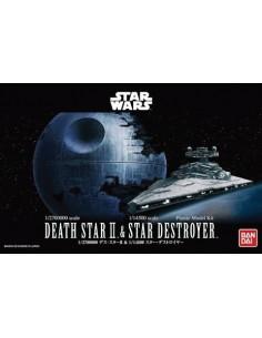 Bandai - 0230358 - Death Star II & Star Destroyer  - Hobby Sector
