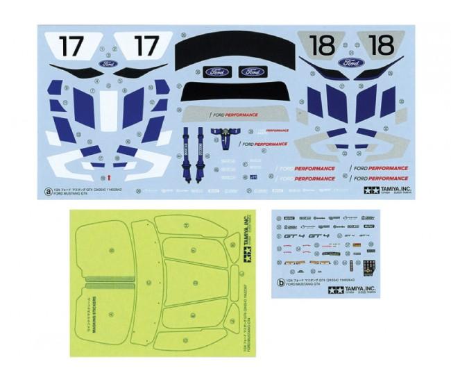 Tamiya - 24354 - Ford Mustang GT4  - Hobby Sector
