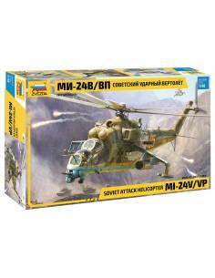 Zvezda - 4823 - Mi-24 V/VP Soviet Attack Helicopter  - Hobby Sector