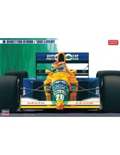 Hasegawa - 20340 - Benetton B190B 1991 Livery US Grand Prix  - Hobby Sector