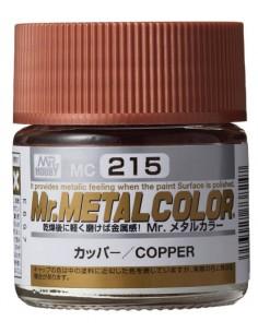 MrHobby (Gunze) - MC-215 - Mr.Metal Color Copper 10ml  - Hobby Sector