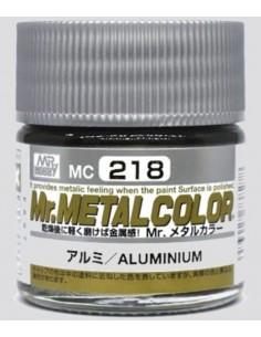 MrHobby (Gunze) - MC-218 - Mr.Metal Color Aluminium 10ml  - Hobby Sector