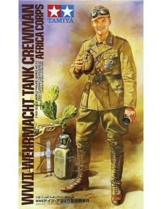 Tamiya - 36310 - WWI Wehmacht tank crewman africa corps  - Hobby Sector