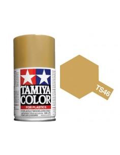 Tamiya - TS-46 - Light Sand 100ml Spray Acrílico  - Hobby Sector