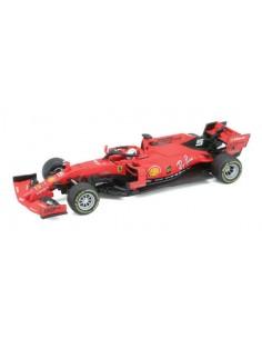 Bburago - 36814V - Ferrari F1 SF90 Sebastien Vetell - Australian GP 2019  - Hobby Sector