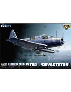 Great Wall Hobby - L4807 - Douglas TBD-1 Devastator VT-8  - Hobby Sector