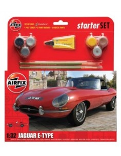 Airfix - Jaguar E-Type Starter Set