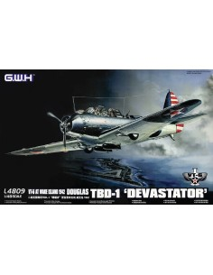 Great Wall Hobby - L4809 - Douglas TBD-1 Devastator VT-6  - Hobby Sector