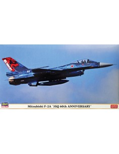 Hasegawa - 02261 - Mitsubishi F-2A '3SQ 60th years Anniversary'  - Hobby Sector