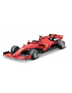 Bburago - 36814L - Ferrari SF90 Charles Leclerc Australian GP F1 2019  - Hobby Sector