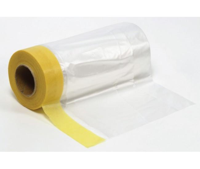 Tamiya - 87164 - Masking Tape with Plastic Sheeting 550mm  - Hobby Sector
