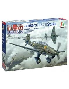 Italeri - 2807 - Junkers Ju87B Stuka - The Battle of Britain  - Hobby Sector