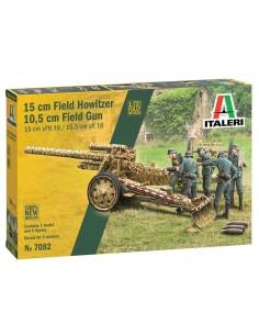 Italeri - 7082 - 15 cm Field Howitzer / 10,5 cm Field Gun  - Hobby Sector